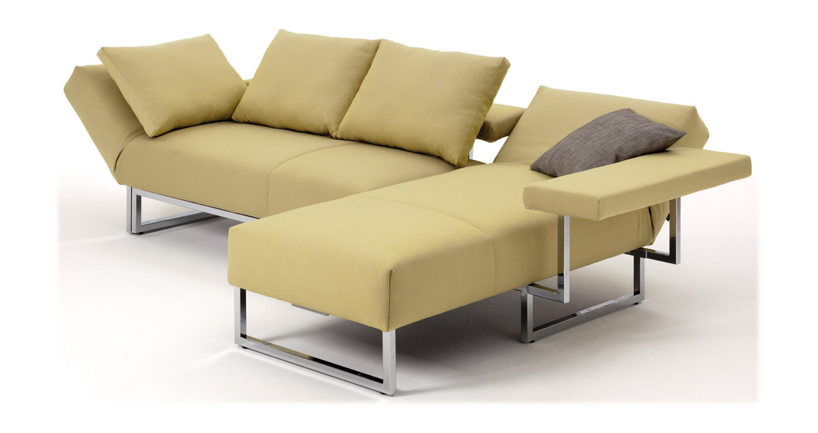 Sofa Hohe Lehne. vibieffe class high back sofa contemporary furniture. quadro hocker ...