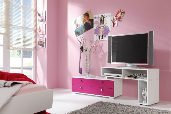 Starlight Girl TV Stand & chest