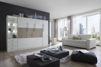 Milano Murphy Bed Combination #1