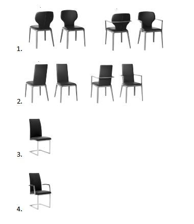 Curve chairs