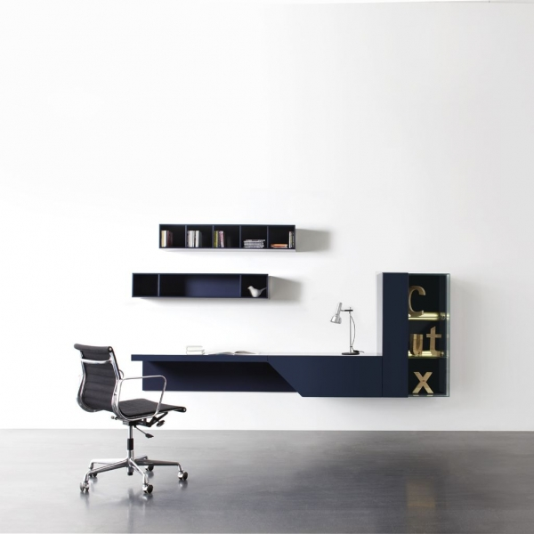 Desk & Wall Unit Cubo Cut-X 674