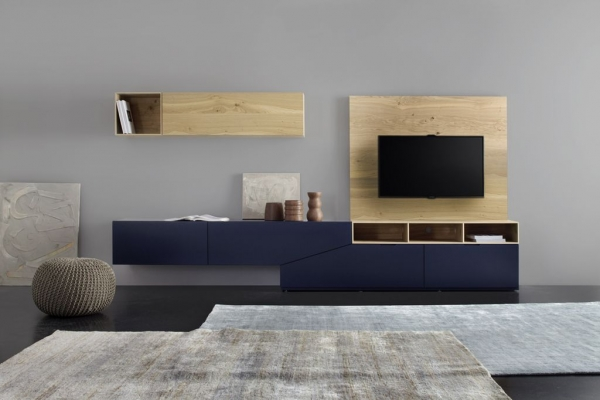 Wall Unit Cubo Cut-x 673