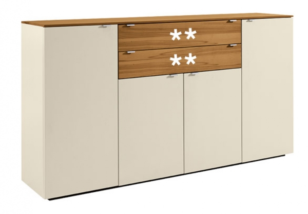 TORONTO Sideboard tall 4-pc